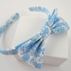 Liberty Metallic Blue Betsy Hairband