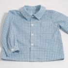 Teal Check Shirt