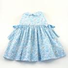 Liberty Blue Betsy Sleeveless Baby Dress