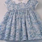Liberty Sky Blue Mitsi Baby Dress