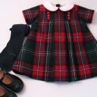 National Tartan Wool Dress