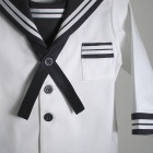 White and Navy Sailor Suit