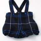 Patriot Wool Tartan Romper Shorts