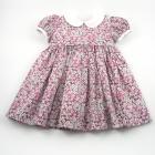 Liberty Pink Petal Wish Baby Dress