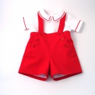 Scarlet Red Nautical Set