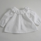 Ruffle Collar Baby Blouse