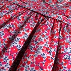 Liberty Red Wiltshire Berries Baby Dress