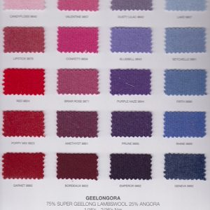 Small sample of gorgeous colours available in Geelongora